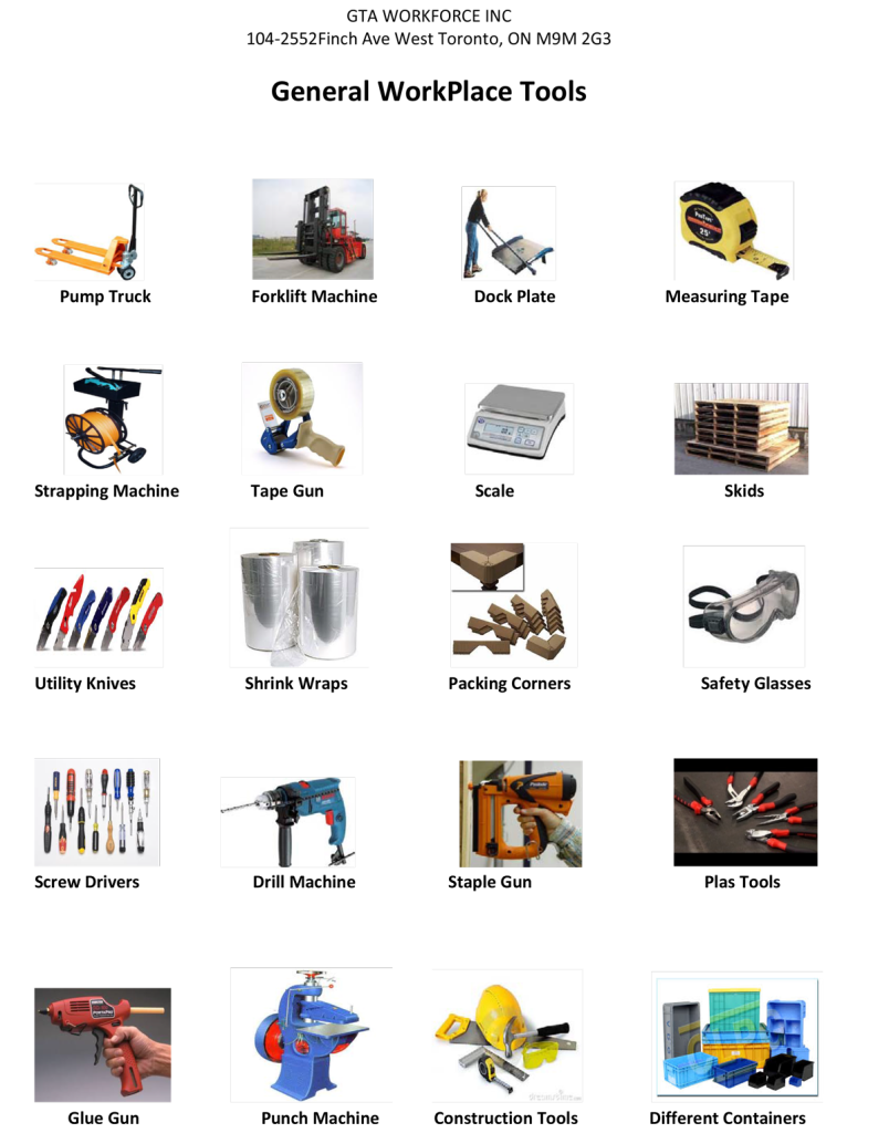 General_WorkPlace_Tools